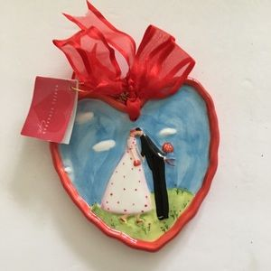Other - Charming Whimsical Kissing Couple Ornament